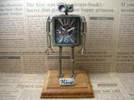 Robot Clock Type2合金
