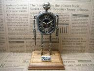 Robot Clock Type1合金