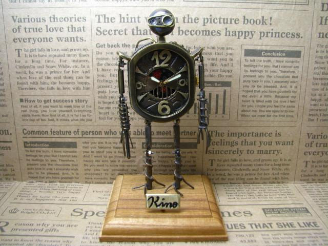 Robot Clock Type1真鍮