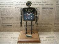 Robot Clock Type3真鍮